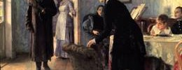 """Ilya Repin's """"They did not expect him"""""""